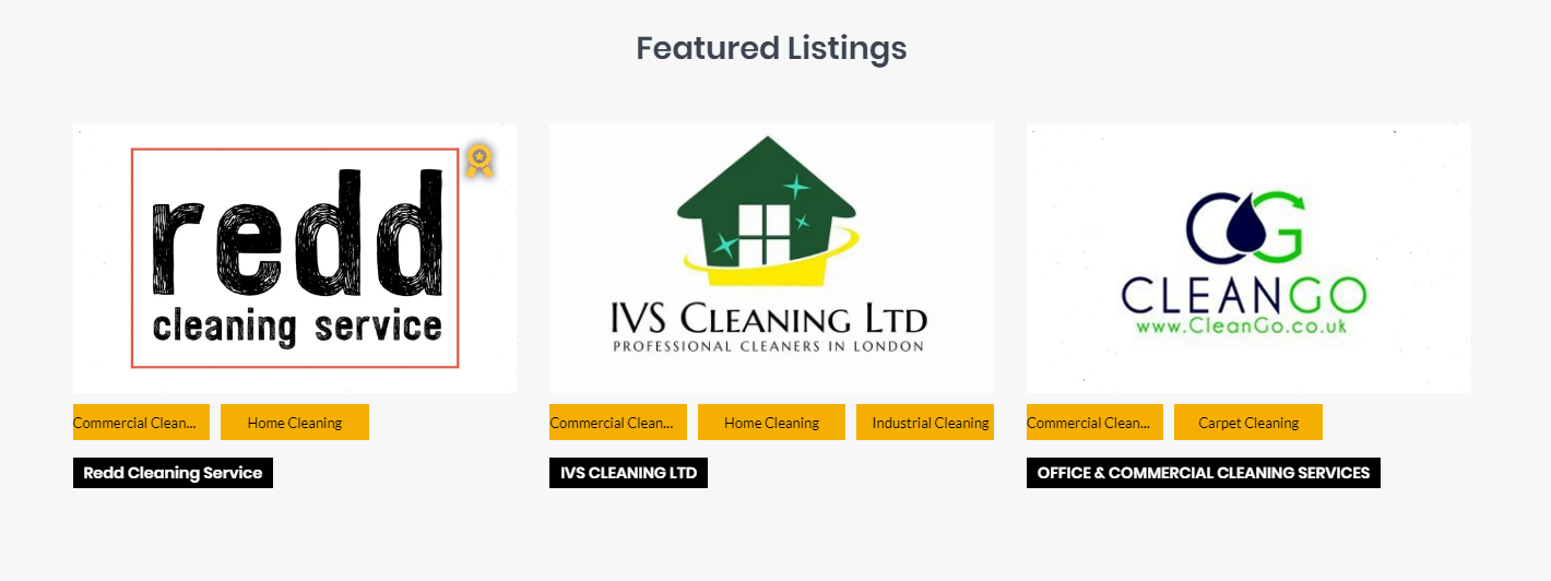 247 Cleaners Featured Listings